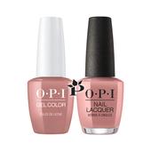 OPI Duo - GCA15 + NLA15 - DULCE DE LECHE .5 oz