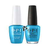 OPI Duo - GCB54 + NLB54 - TEAL THE COWS COME HOME .5 oz