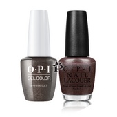 OPI Duo - GCB59A + NLB59 - MY PRIVATE JET .5 oz