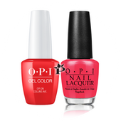 OPI Duo - GCB76A + NLB76 - OPI ON COLLINS AVE. .5 oz
