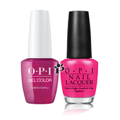 OPI Duo - GCC09A + NLC09 - POMPEII PURPLE .5 oz