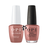 OPI Duo - GCE41 + NLE41 - BAREFOOT IN BARCELONA .5 oz