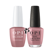 OPI Duo - GCF16 + NLF16 - TICKLE MY FRANCEY .5 oz