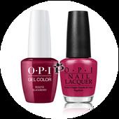 OPI Duo - GCF52A + NLF52 - BOGOTA BLACKBERRY .5 oz