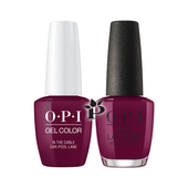 OPI Duo - GCF62 + NLF62 - IN THE CABLE CAR-POOL LANE .5 oz