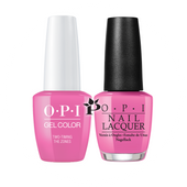 OPI Duo - GCF80A + NLF80 - TWO TIMING THE ZONES .5 oz
