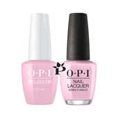 OPI Duo - GCH39A + NLH39 - IT'S A GIRL! .5 oz