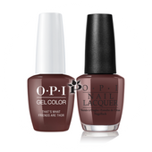 OPI Duo - GCI54 + NLI54 - THAT'S WHAT FRIENDS ARE THOR - Iceland Collection .5 oz