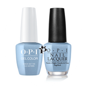 OPI Duo - GCI60 + NLI60 - CHECK OUT THE OLD GEYSIRS - Iceland Collection .5 oz