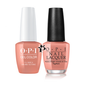OPI Duo - GCI61 + NLI61 - I'LL HAVE A GIN & TECTONIC - Iceland Collection .5 oz
