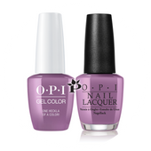 OPI Duo - GCI62 + NLI62 - ONE HECKLA OF A COLOR! - Iceland Collection .5 oz