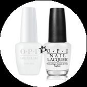 OPI Duo - GCL00 + NLL00 - ALPINE SNOW .5 oz