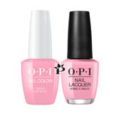 OPI Duo - GCL18 + NLL18 - TAGUS IN THAT SELFIE! - Lisbon Collection .5 oz