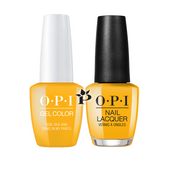 OPI Duo - GCL23 + NLL23 - SUN, SEA, AND SAND IN MY PANTS - Lisbon Collection .5 oz