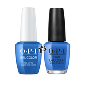 OPI Duo - GCL25 + NLL25 - TILE ART TO WARM YOUR HEART - Lisbon Collection .5 oz