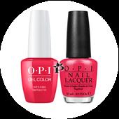 OPI Duo - GCN56A + NLN56 - SHE'S A BAD MUFFALETTA! .5 oz
