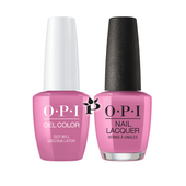 OPI Duo - GCP31 + NLP31 - SUZI WILL QUENCHUA LATER! - Peru Collection .5 oz