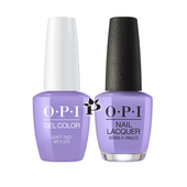 OPI Duo - GCP34 + NLP34 - DON'T TOOT MY FLUTE - Peru Collection .5 oz