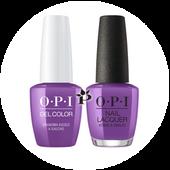 OPI Duo - GCP35 + NLP35 - GRANDMA KISSED A GAUCHO - Peru Collection .5 oz