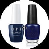 OPI Duo - GCR54A + NLR54 - RUSSIAN NAVY .5 oz