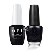 OPI Duo - GCT02A + NLT02 - BLACK ONYX .5 oz