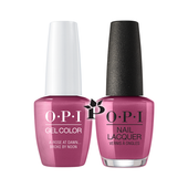 OPI Duo - GCV11 + NLV11 - A ROSE AT DAWN...BROKE BY NOON .5 oz