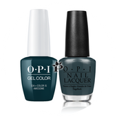 OPI Duo - GCW53A + NLW53 - CIA = COLOR IS AWESOME .5 oz