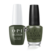 OPI Duo - GCW55A + NLW55 - SUZI THE FIRST LADY OF NAILS .5 oz