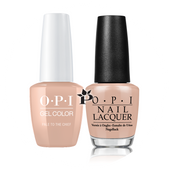 OPI Duo - GCW57A + NLW57 - PALE TO THE CHIEF .5 oz