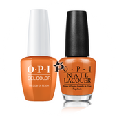 OPI Duo - GCW59A + NLW59 - FREEDOM OF PEACH .5 oz