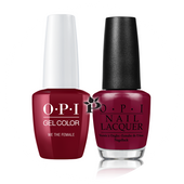 OPI Duo - GCW64A + NLW64 - WE THE FEMALE .5 oz