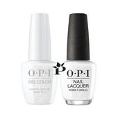 OPI Duo - HPK01 + HRK01 - DANCING KEEPS ME ON MY TOES .5 oz