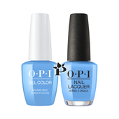 OPI Duo - HPK03 + HRK03 - DREAMS NEED CLARA-FICATION .5 oz