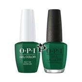 OPI Duo - HPK06 + HRK06 - ENVY THE ADVENTURE .5 oz