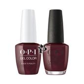 OPI Duo - HPK12 + HRK12 - BLACK TO REALITY .5 oz