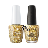 OPI Duo - HPK13 + HRK13 - GOLD KEY TO THE KINGDOM .5 oz