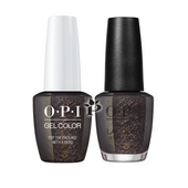 OPI Duo - HPJ11 + HRJ11 - TOP THE PACKAGE WITH A BEAU .5 oz