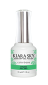 Kiara Sky Gel Polish .5 oz - #4010 Appletini - Jelly Collection