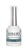 Kiara Sky Gel Polish .5 oz - #4014 Black Tie - Jelly Collection
