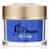 iGel Dip & Dap Powder 2oz - DD136 GLITTERING STREAM