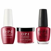 OPI COMBO 3 in 1 Matching - GCH02A-NLH02-DPH02 Chick Flick Cherry