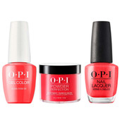 OPI COMBO 3 in 1 Matching - GCH70A-NLH70-DPH70 Aloha from OPI