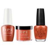 OPI COMBO 3 in 1 Matching - GCV26A-NLV26-DPV26 It's a Piazza Cake