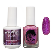 WAVE GALAXY 3 in 1 - DUO ONLY (GEL+ LACQUER) - #1 Medium Orchid