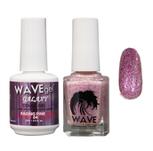 WAVE GALAXY 3 in 1 - DUO ONLY (GEL+ LACQUER) - #4 Raging Pink
