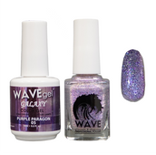 WAVE GALAXY 3 in 1 - DUO ONLY (GEL+ LACQUER) - #5 Purple Paragon