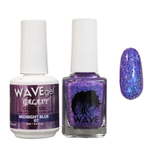 WAVE GALAXY 3 in 1 - DUO ONLY (GEL+ LACQUER) - #7 Midnight Blue