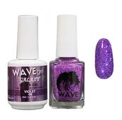 WAVE GALAXY 3 in 1 - DUO ONLY (GEL+ LACQUER) - #8 Violet