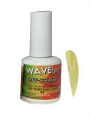 WaveGel Off-Color Gel - #6 See-Through Light .5 oz