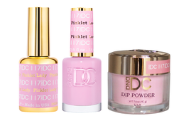DND DC 3in1 Matching(GEL+LACQUER+DIP) - #117  PINKLET LADY